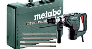 METABO Set Kombihammer KH 5 40 691057000 mit SDS max Meisselsatz 5 tlg Kunststoffkoffer 310x165 - METABO Set Kombihammer KH 5-40 (691057000); mit SDS-max-Meißelsatz (5-tlg.); Kunststoffkoffer